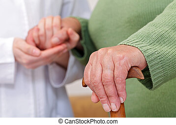 Elderly home care have cultural and geographic differences