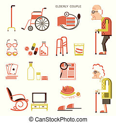 Elderly people and objects for life - Elderly people and...