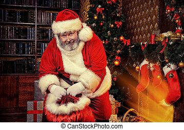 elderly santa