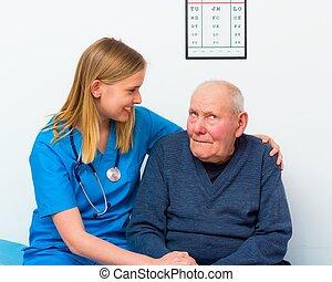 Elderly With Dementia