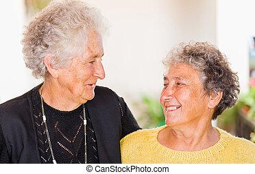 Elderly women