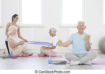 elders, на, реабилитация