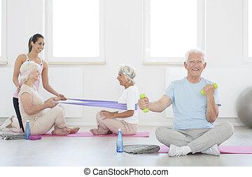elders, реабилитация