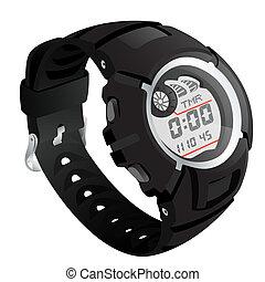 elecronical, 腕時計