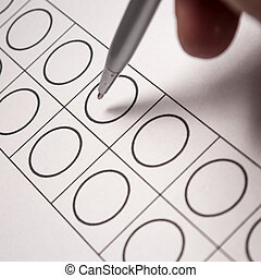 ballot papers - election, ballot papers, pen