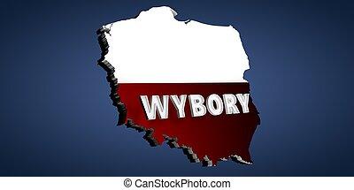 Election baner for Poland - Wybory 2020.