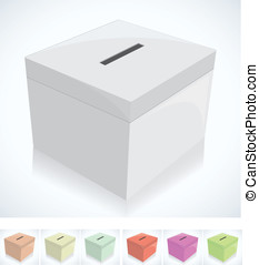 election box -ballot box