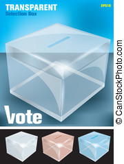 election box -transparent