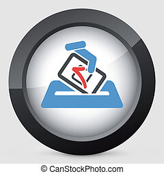 Election concept icon