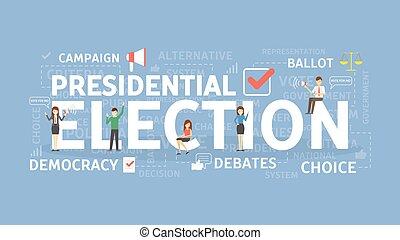 Election concept illustration.