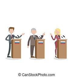 election., débats