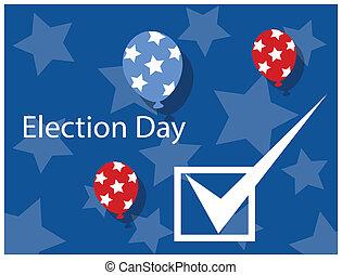 Election Day Celebration Background