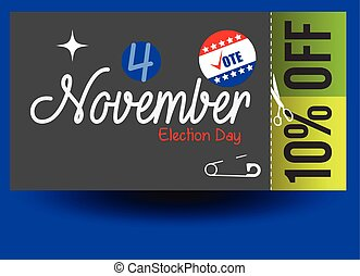 Election Day Discount Voucher