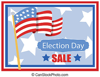 Election Day Sale Background