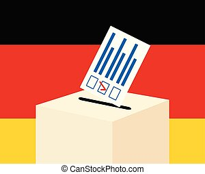 Election in Germany concept.