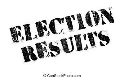 Election Results rubber stamp