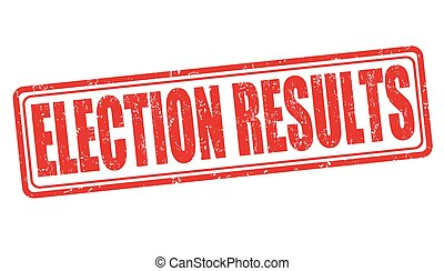 Election results stamp