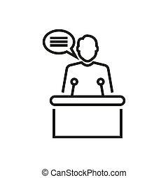Election topic icon