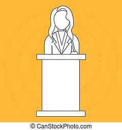 elections icon design - elections icon design, vector...