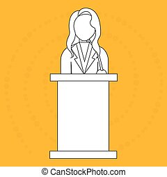 elections icon design, vector illustration eps10 graphic