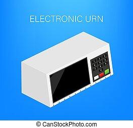 Electoral Urn. Translations Fim means End, Urna Urn, ...