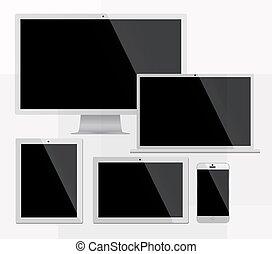 Electorinc devices white
