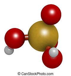 electrólito, lead-acid, utilizado, mineral, (h2so4,...