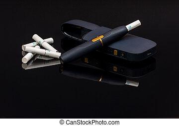 electrónico, calefacción, cigarrillo