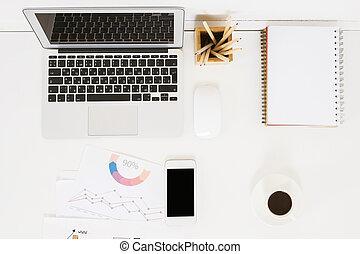 electrónico, oficina, Dispositivos, Escritorio