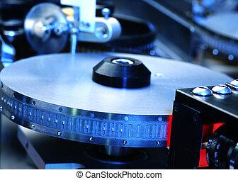 electrónico, parte, producción