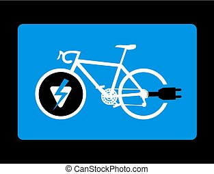 electric bike figure