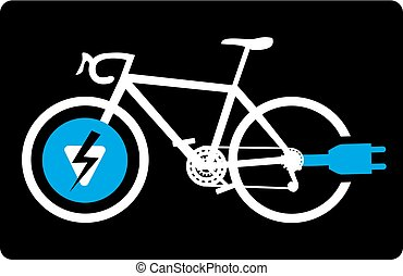 electric bike sign