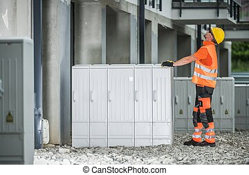 Electric Boxes Installation