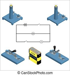 Electric circuit and its elements