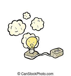 electric circuit cartoon