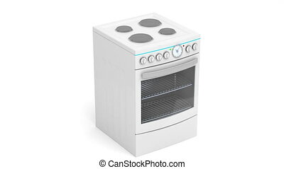 Electric cooker - Presentation of modern electric cooker