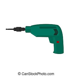 Electric drill device icon