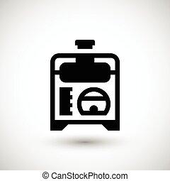 Electric generator icon
