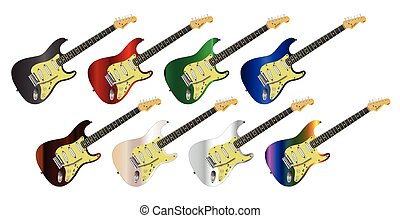 Electric Guitar Collection