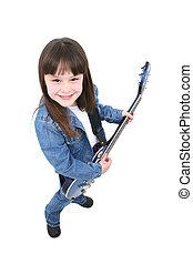 Electric Guitar Girl