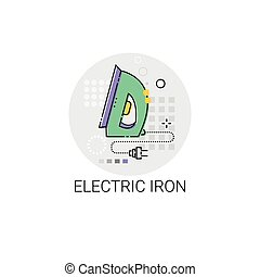 Electric Iron Household Devices Icon
