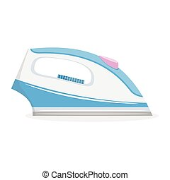 Electric iron, vector illustration