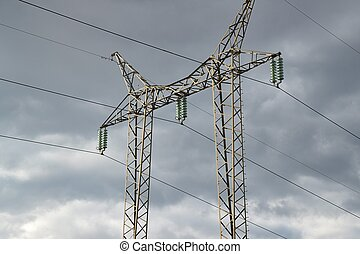 Electric lines, high voltage