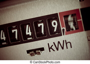 electric meter - an electricity meter measures the...