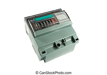 Electric meter.