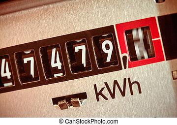 electric meter measures