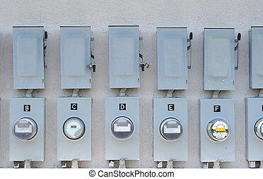 Electric meter  - business electric meters