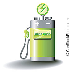 Electric Mobility - Symbolic illustration for electric...