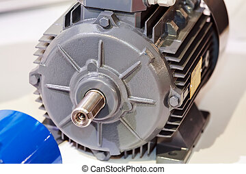 Electric motor - Large and powerful electric motor in modern...