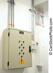 Electric panel. - Control room.